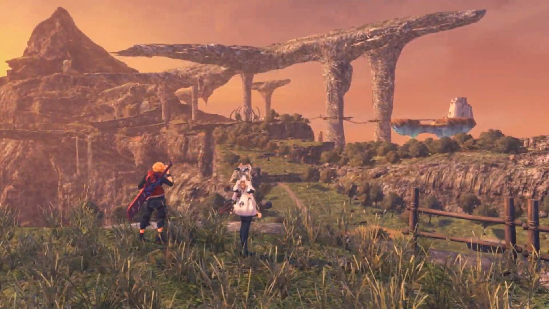 Xenoblade Chronicles on Switch Side-by-Side With the Original Highlights Some of its Massive Improvements