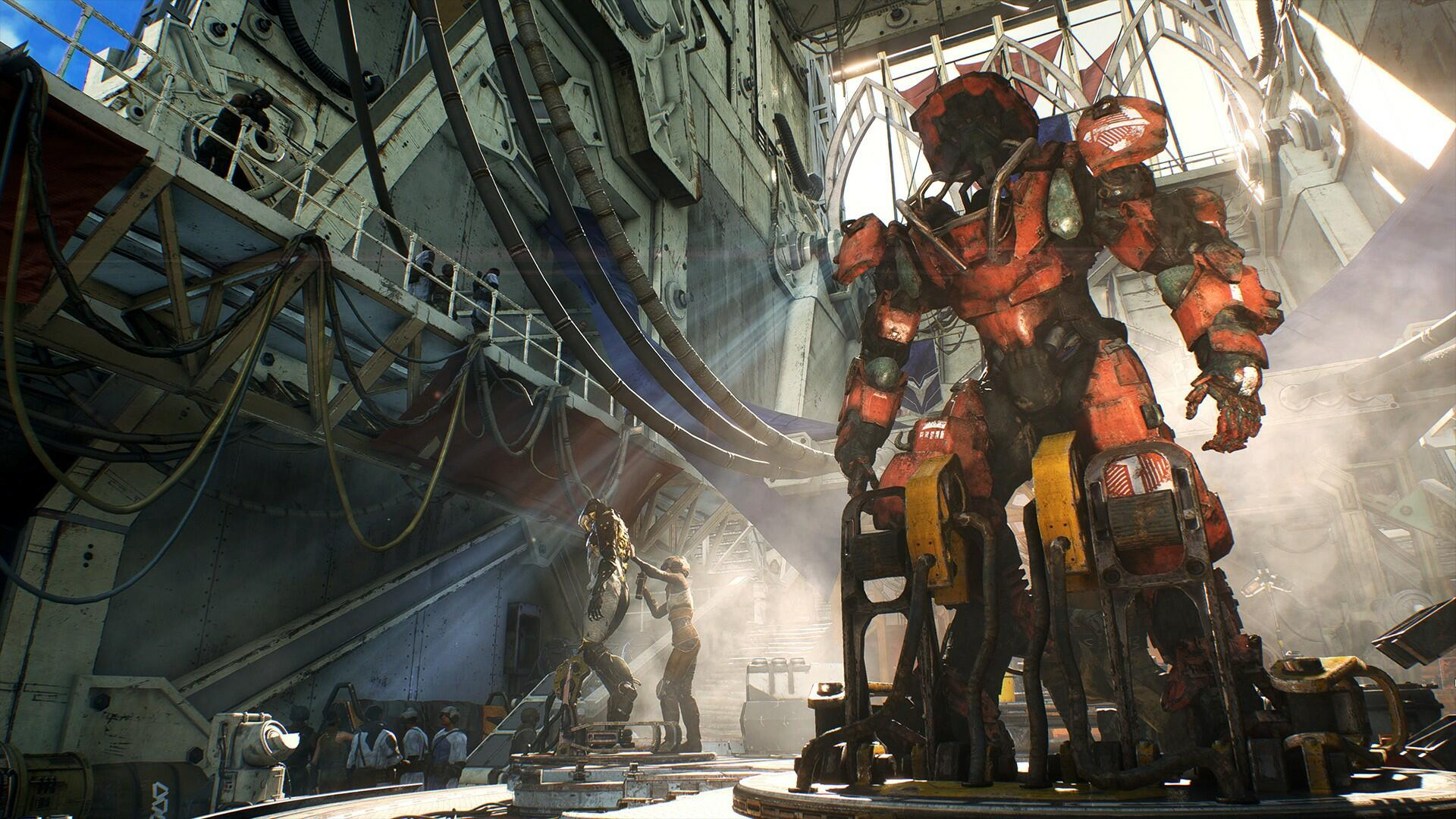"Anthem's ""Day One"" Patch is Actually Coming Today"