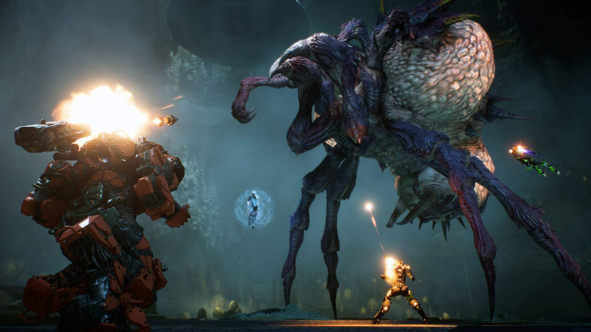 Anthem's Endgame Roadmap Appears to Tease Future Story Developments Among Other New Info