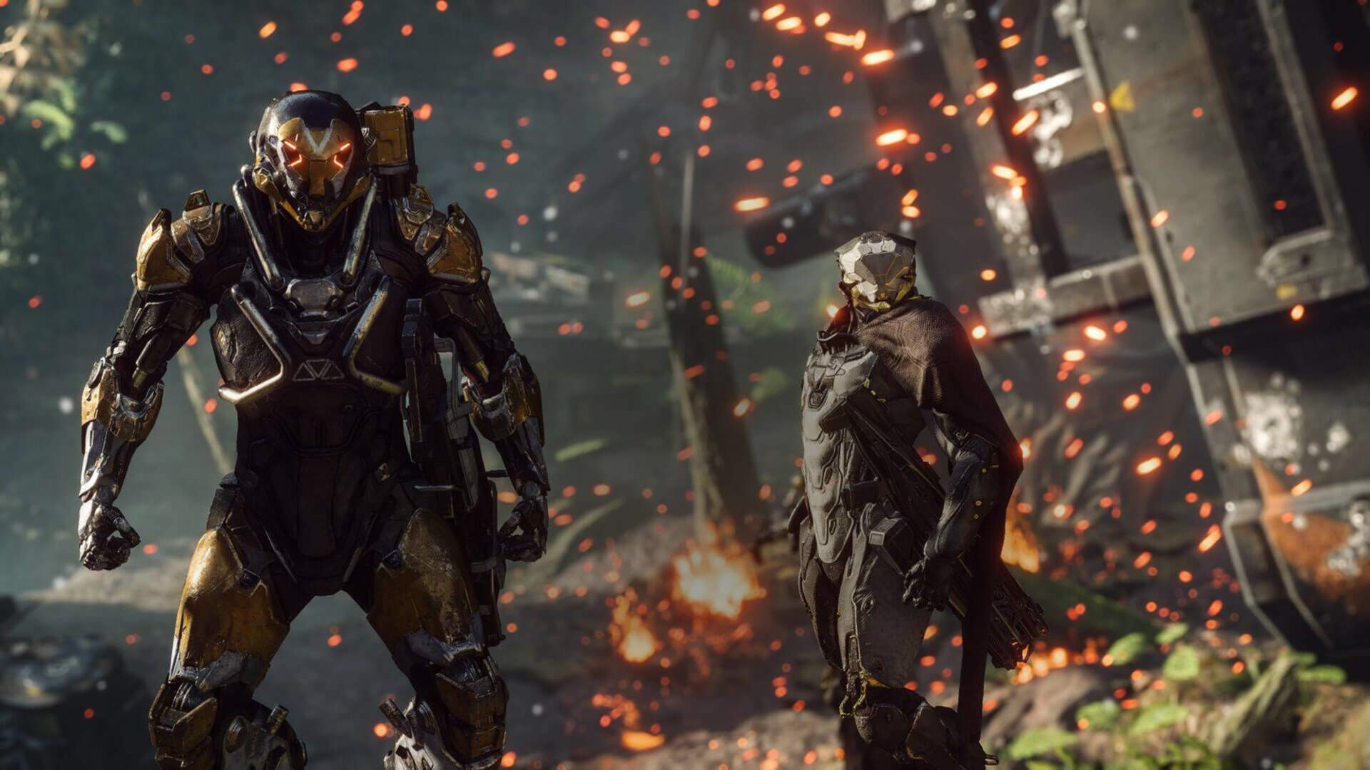 Anthem Has a Health Bar Bug That is Leaving Players Vulnerable to Being Killed in One Shot