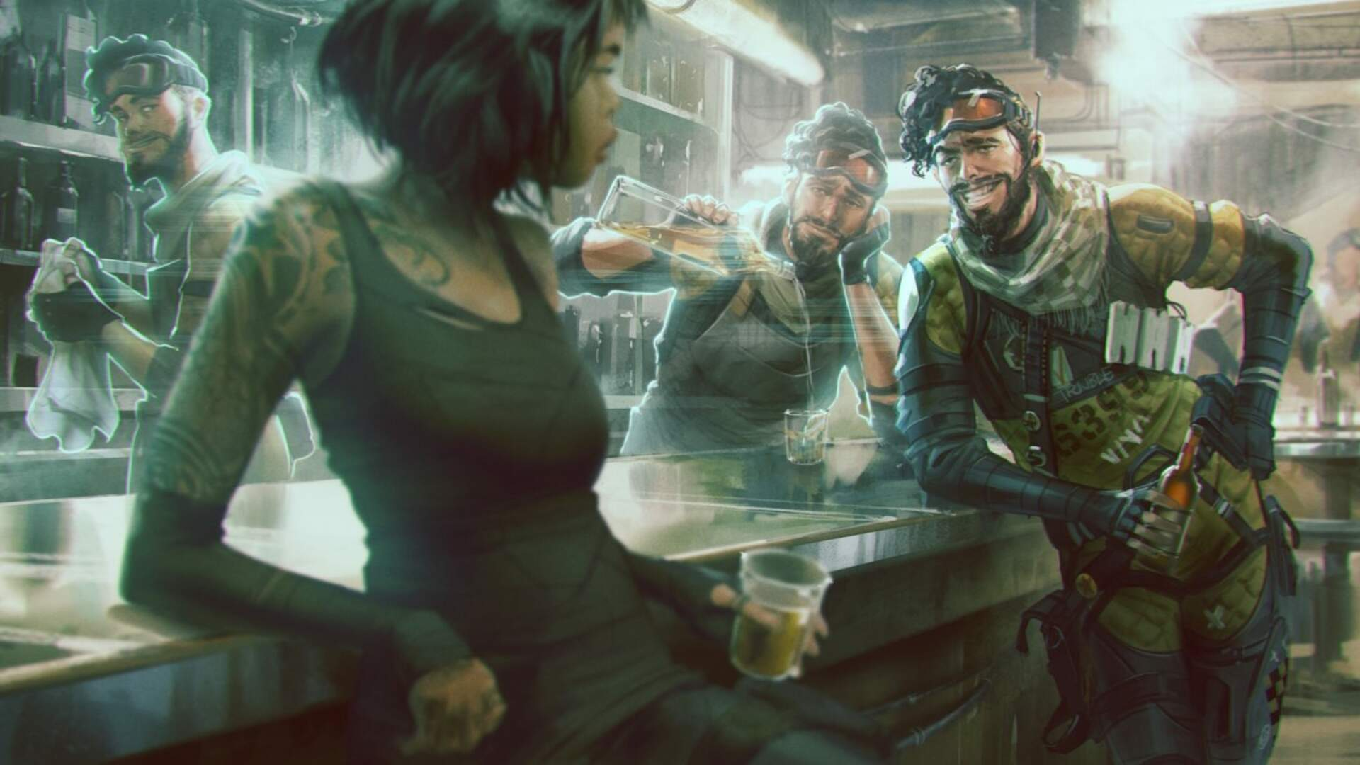 Apex Legends Datamine Reveals Potential New Characters In Addition To Previously Leaked Octane [Update: Respawn Comments]
