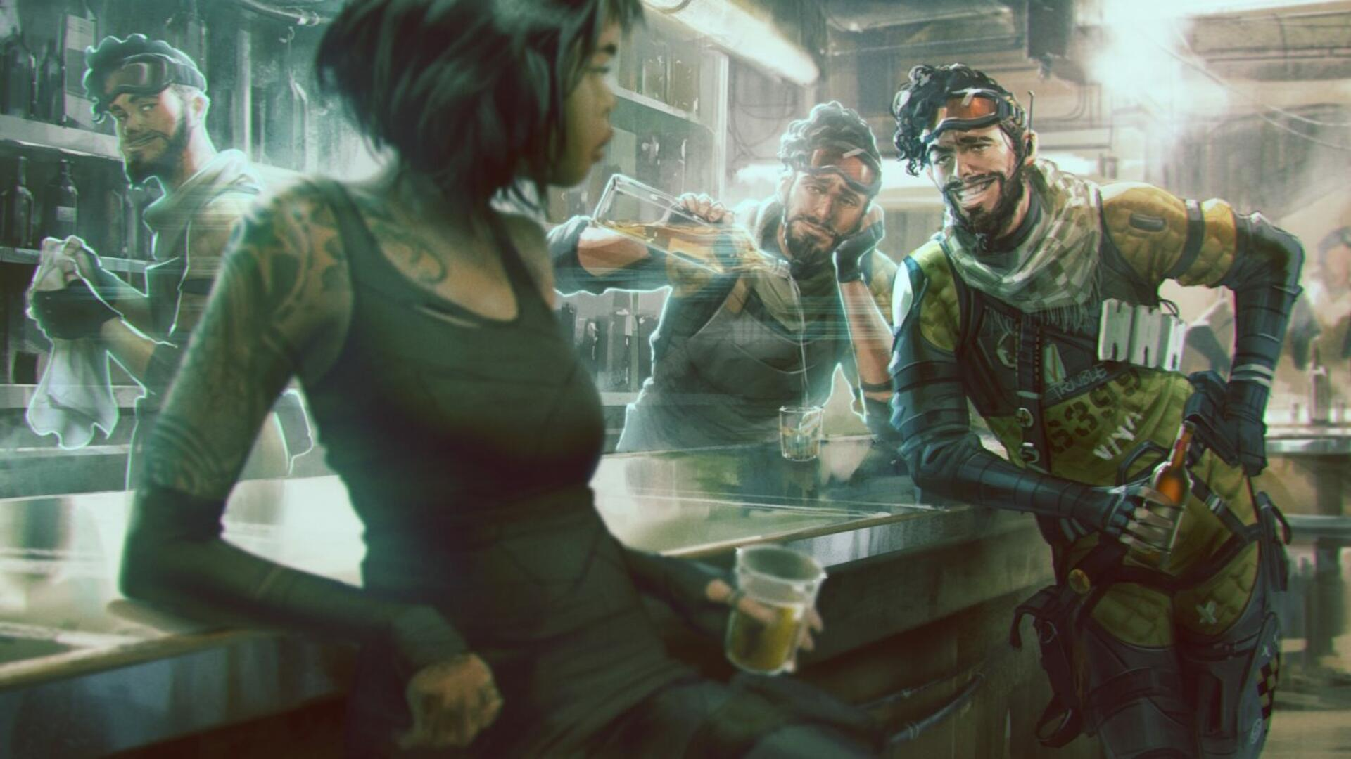 Apex Legends' Caustic and Mirage: How Much They Cost to Unlock, Is it Worth It, and More
