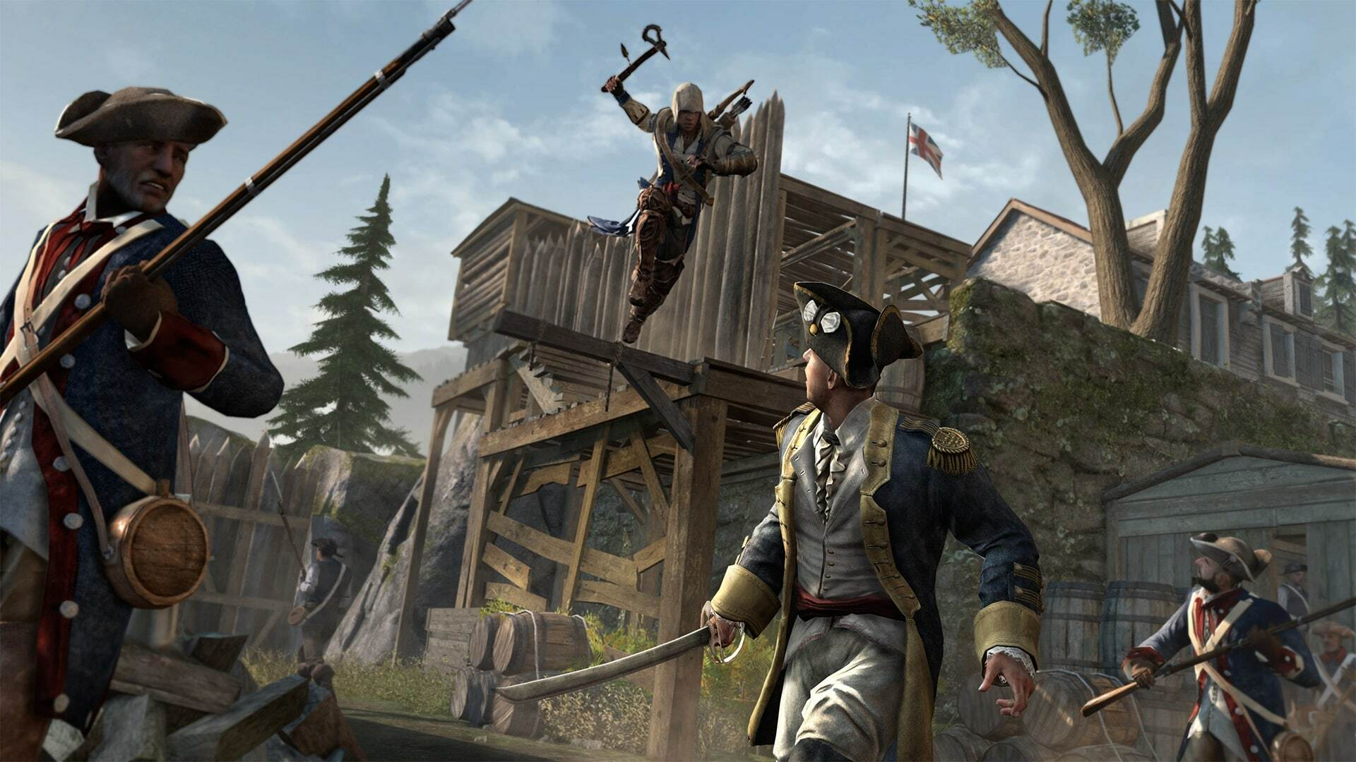 Assassin S Creed 3 Remastered Gets The History Channel Treatment In Latest Trailer Usgamer
