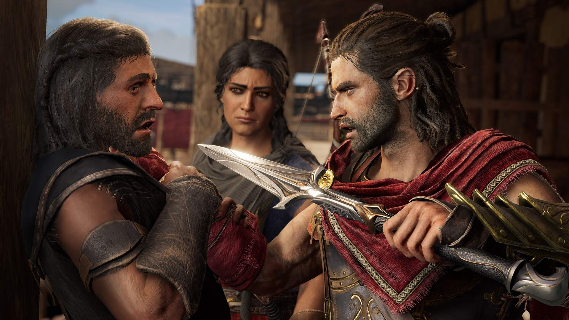 Assassin's Creed Odyssey Players Are Using the Story Creator to Farm XP, and Ubisoft Is Having None of It
