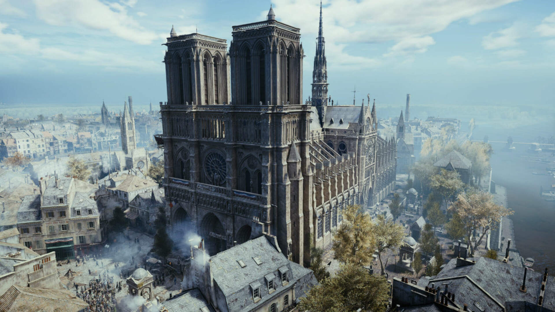 Ubisoft Donates €500,000 to Help With Notre-Dame's Restoration and Gives Assassin's Creed Unity Away for Free