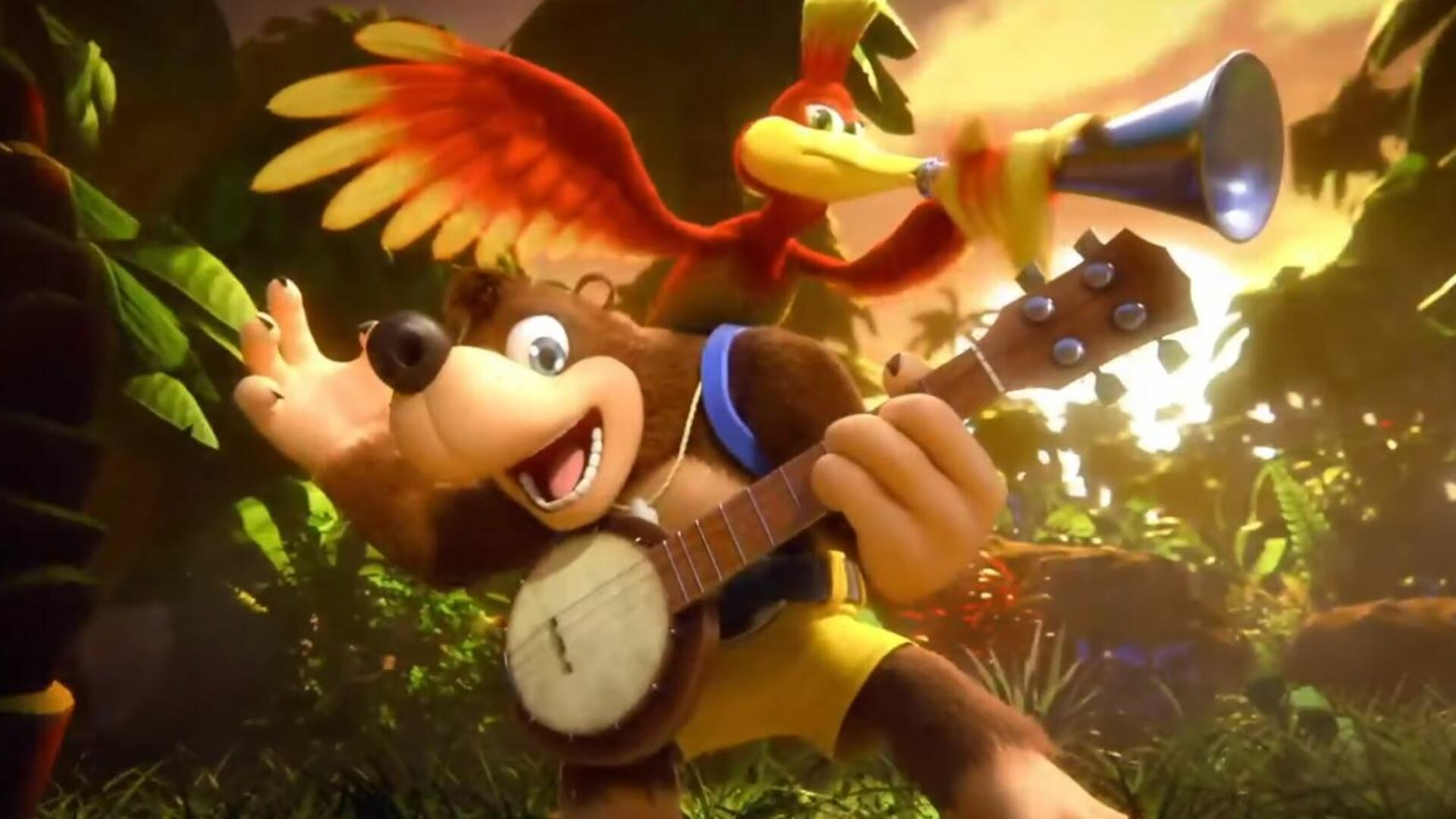 Here's What Banjo and Kazooie Look Like in The Legend of Zelda: Wind Waker