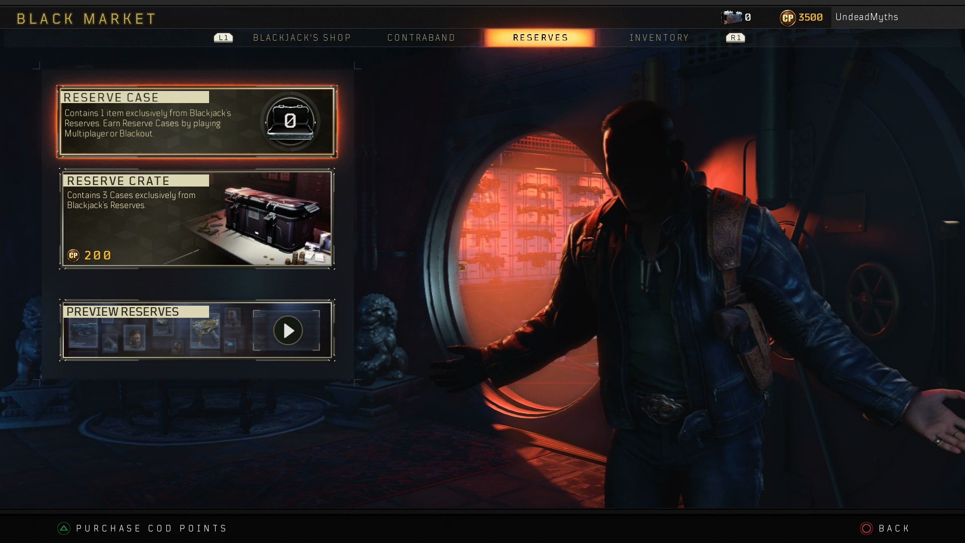 Black Ops 4 Loot Boxes Guide - Grand Heist Operation Reserve