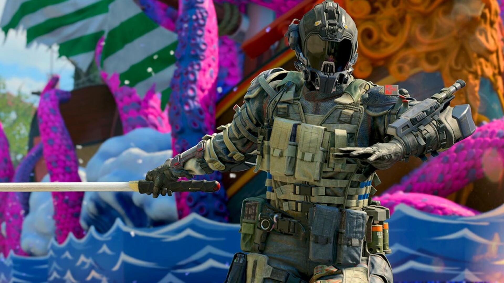 Black Ops 4 Operation Spectre Rising Update - New Spectre Specialist, Blackout Map Flooding