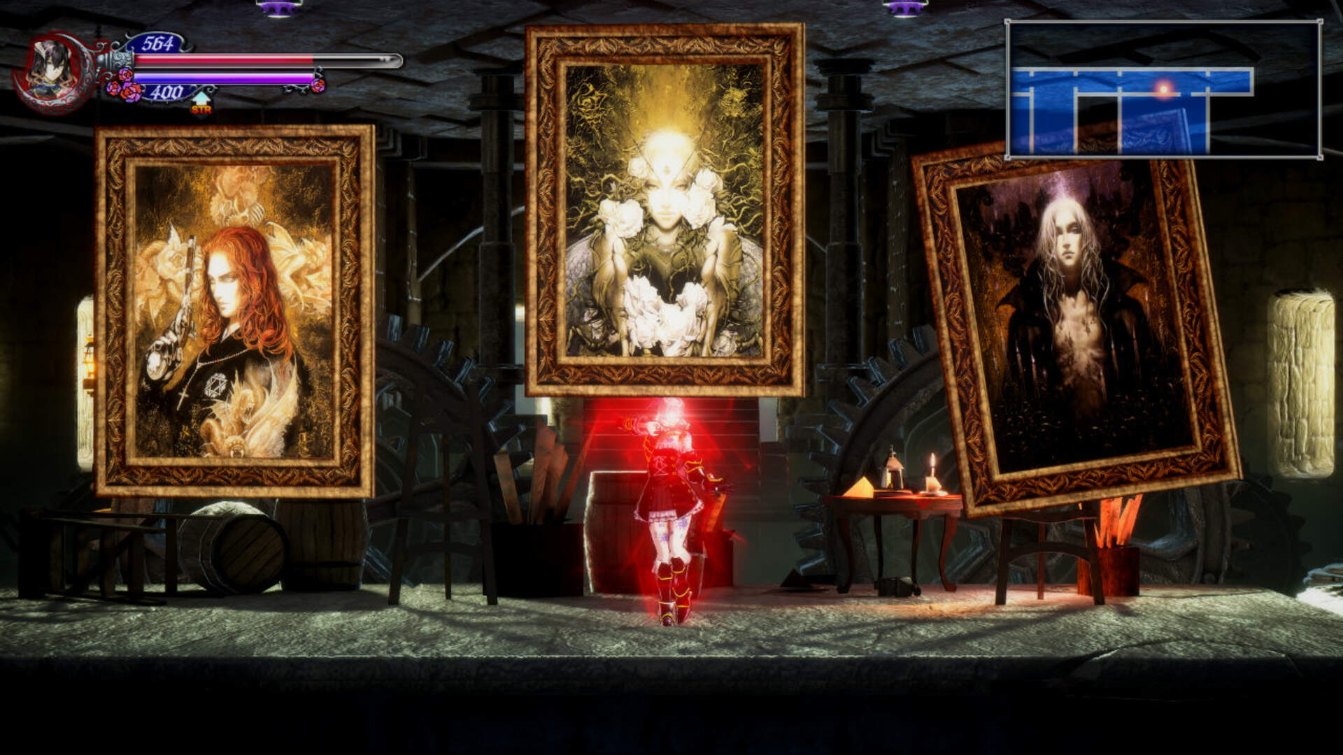 Bloodstained Mod Replaces Backer Portraits With Old Kojima Castlevania Artwork