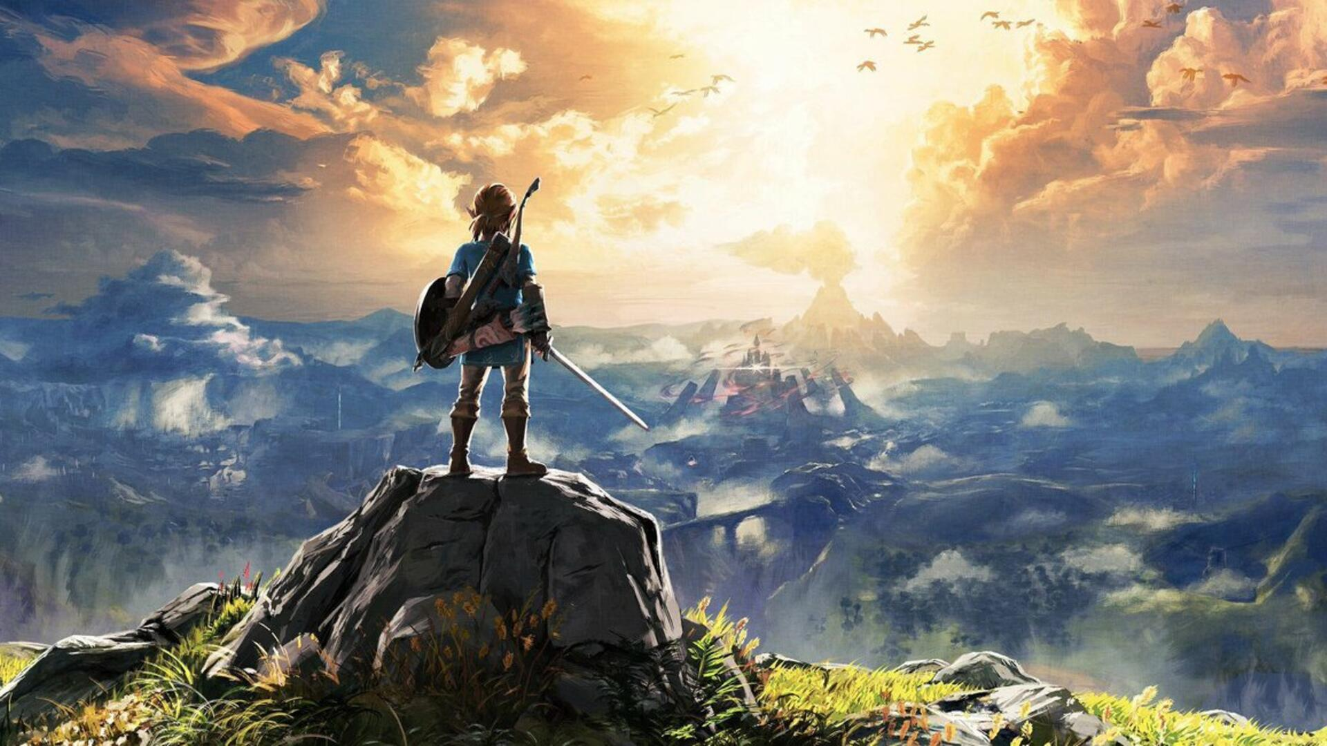 New Mod for The Legend of Zelda: Breath of the Wild Builds a Brutal New Shrine from the Ground-Up