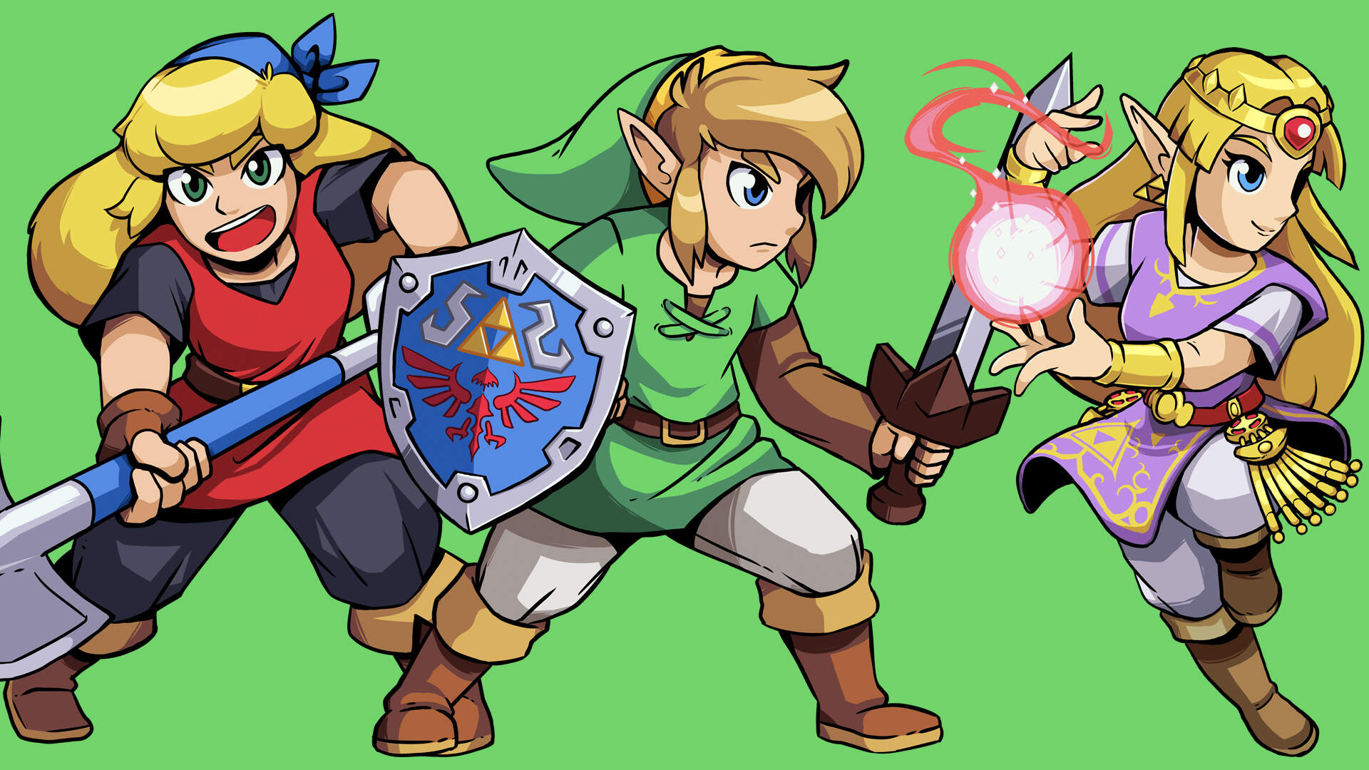 Candence Of Hyrule Castle Statue Puzzle How To Solve The Hyrule Castle Puzzle In Cadence Of Hyrule Usgamer