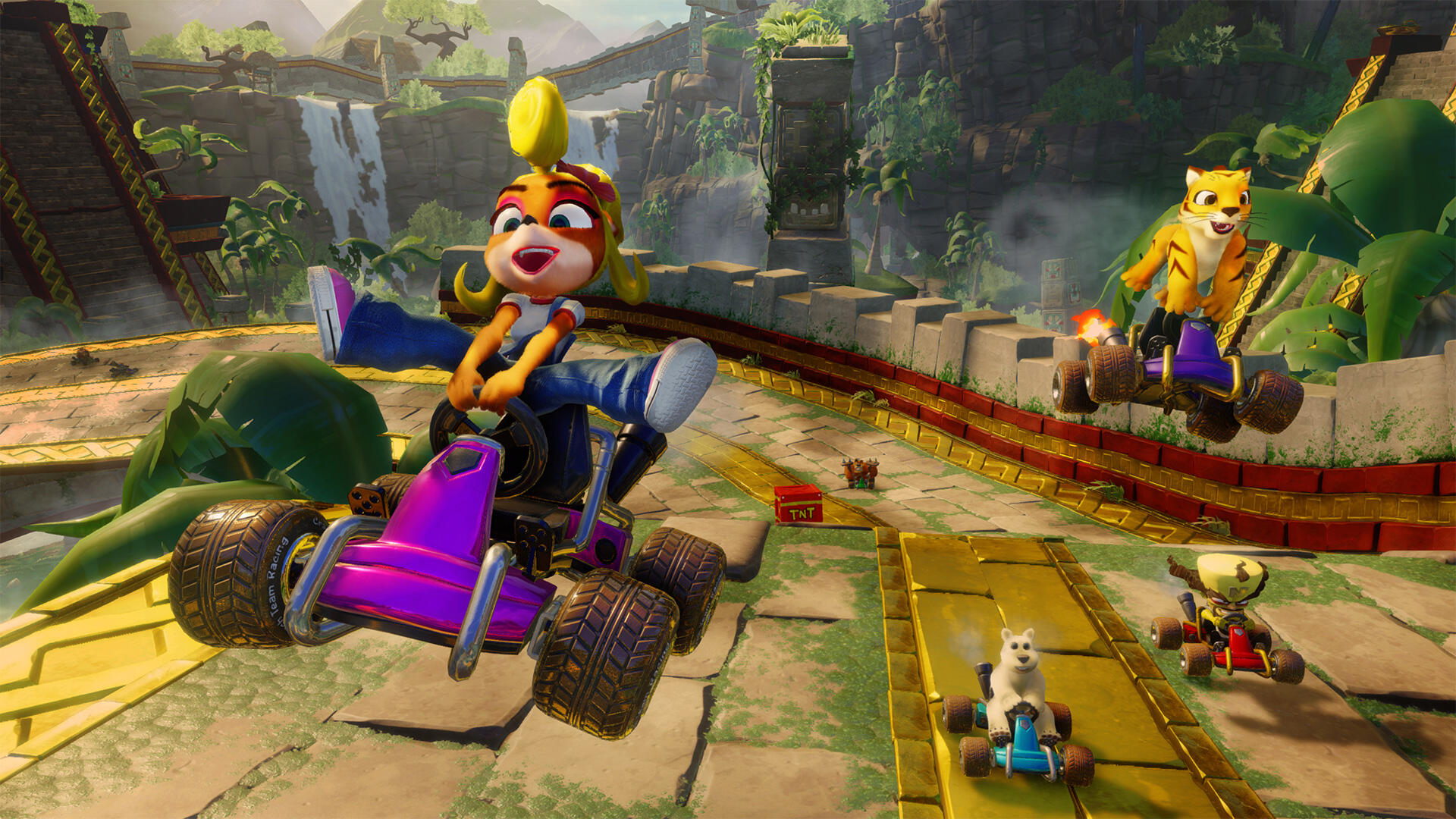Crash Team Racing Nitro Fuelled: Mystery Caves CTR Locations