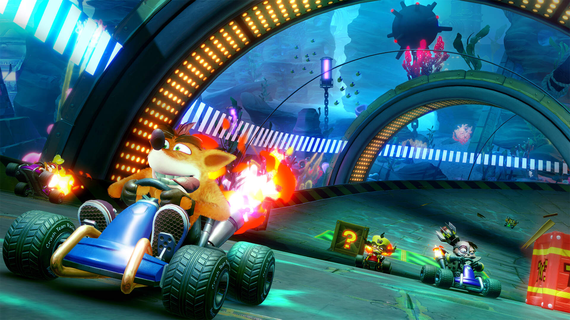 Crash Team Racing Online: Private Matches, Battle Mode, Friends Menu