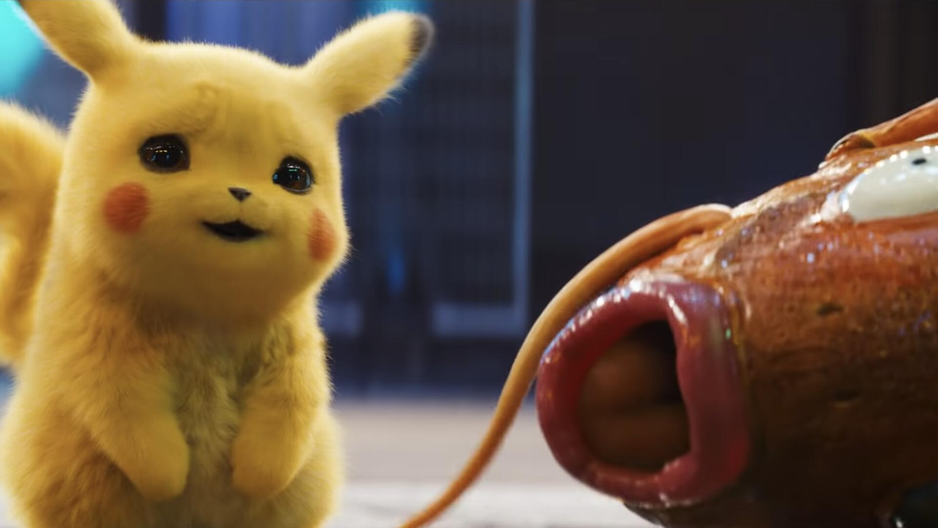 New Detective Pikachu Teaser Shows Off Pokemon Like Squirtle, Treecko, Purrloin, and More