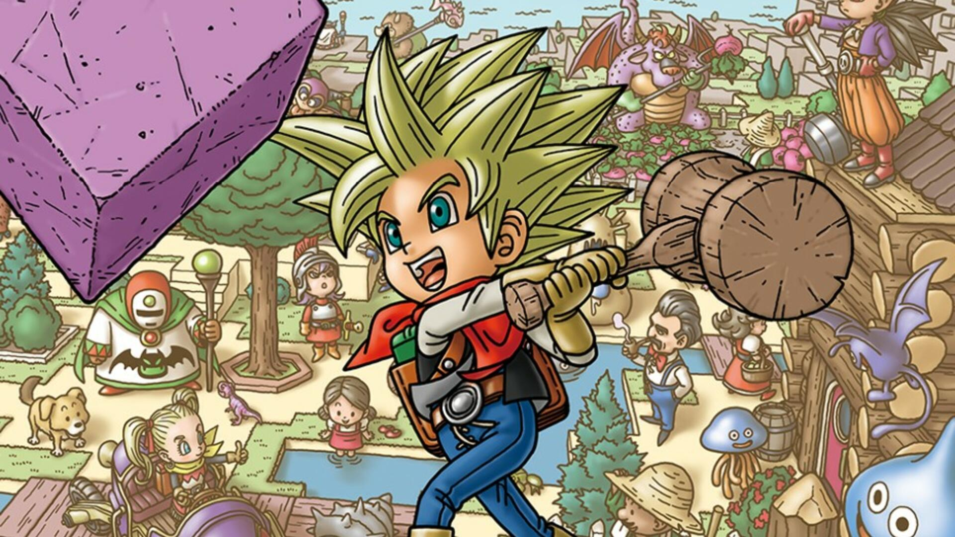 Dragon Quest Builders 2 Hammer - How to Get the Giant Mallet in Dragon Quest Builders 2