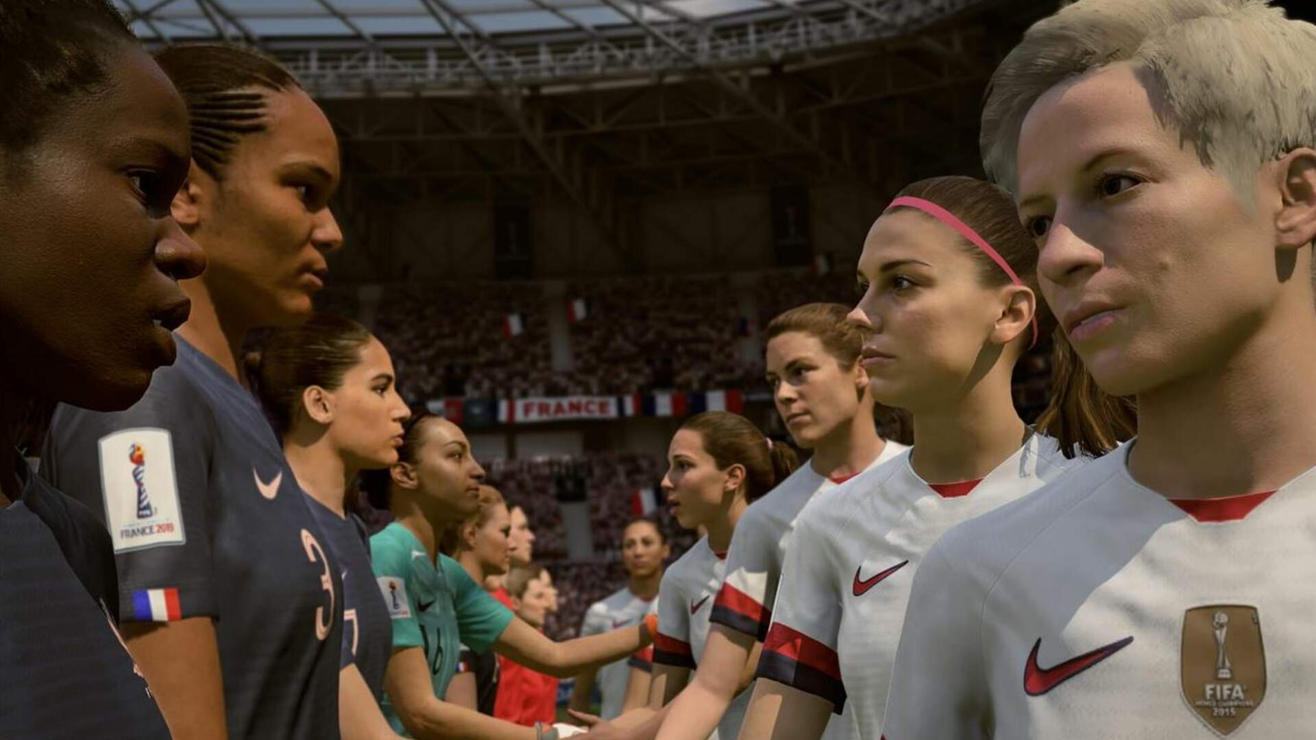 In a Series First, FIFA 19 Adds Women's World Cup DLC