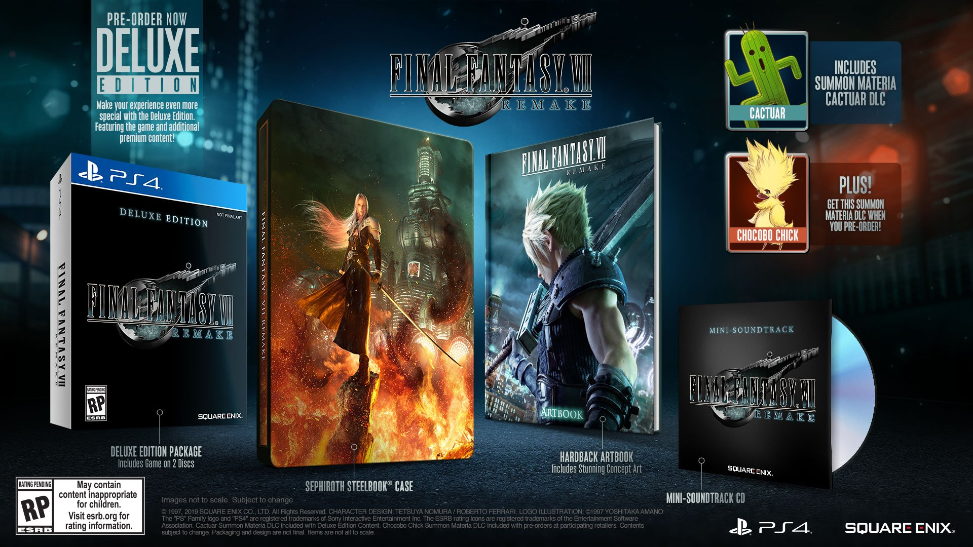 Final Fantasy 7 Remake Release Date Ps4 Box Art Gameplay