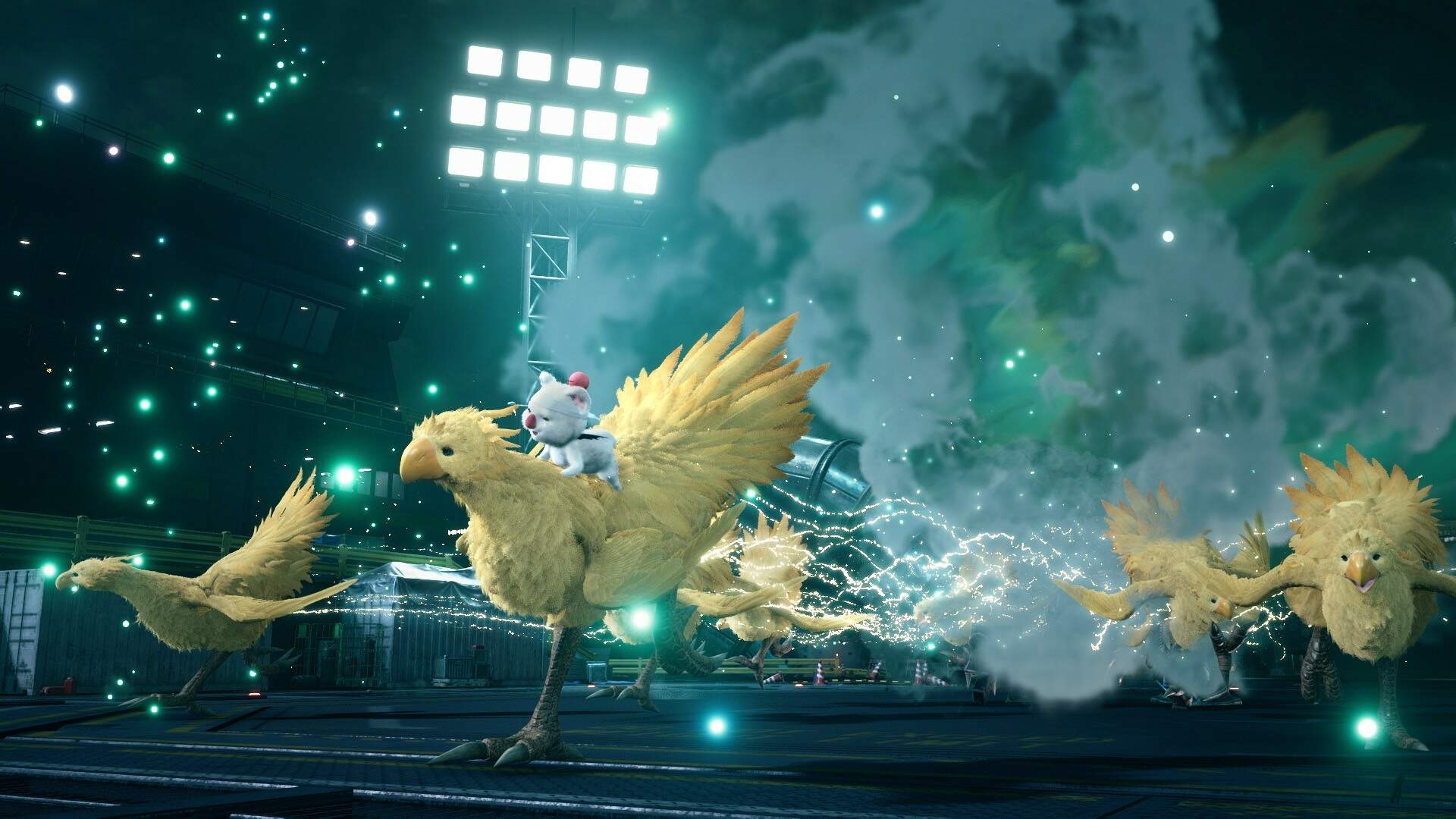 Here's Final Fantasy 7's Weird Chocobo Chick in Action