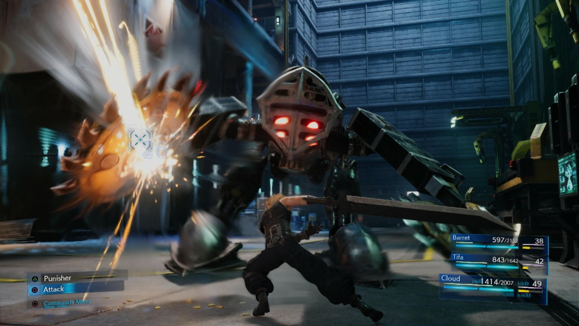 Final Fantasy 7 Remake Combat Details: What Sharp-Eyed Fans Have Found in the Trailer
