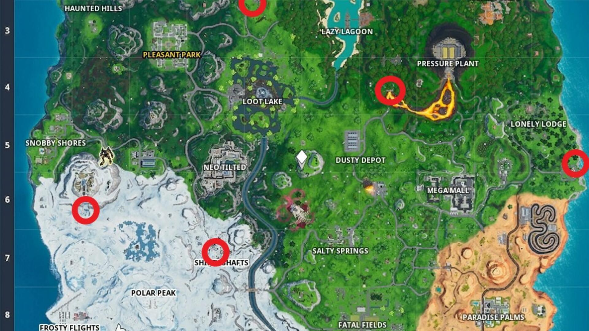 Fortnite Gas Station Locations and Lost Spray Cans - Where ...