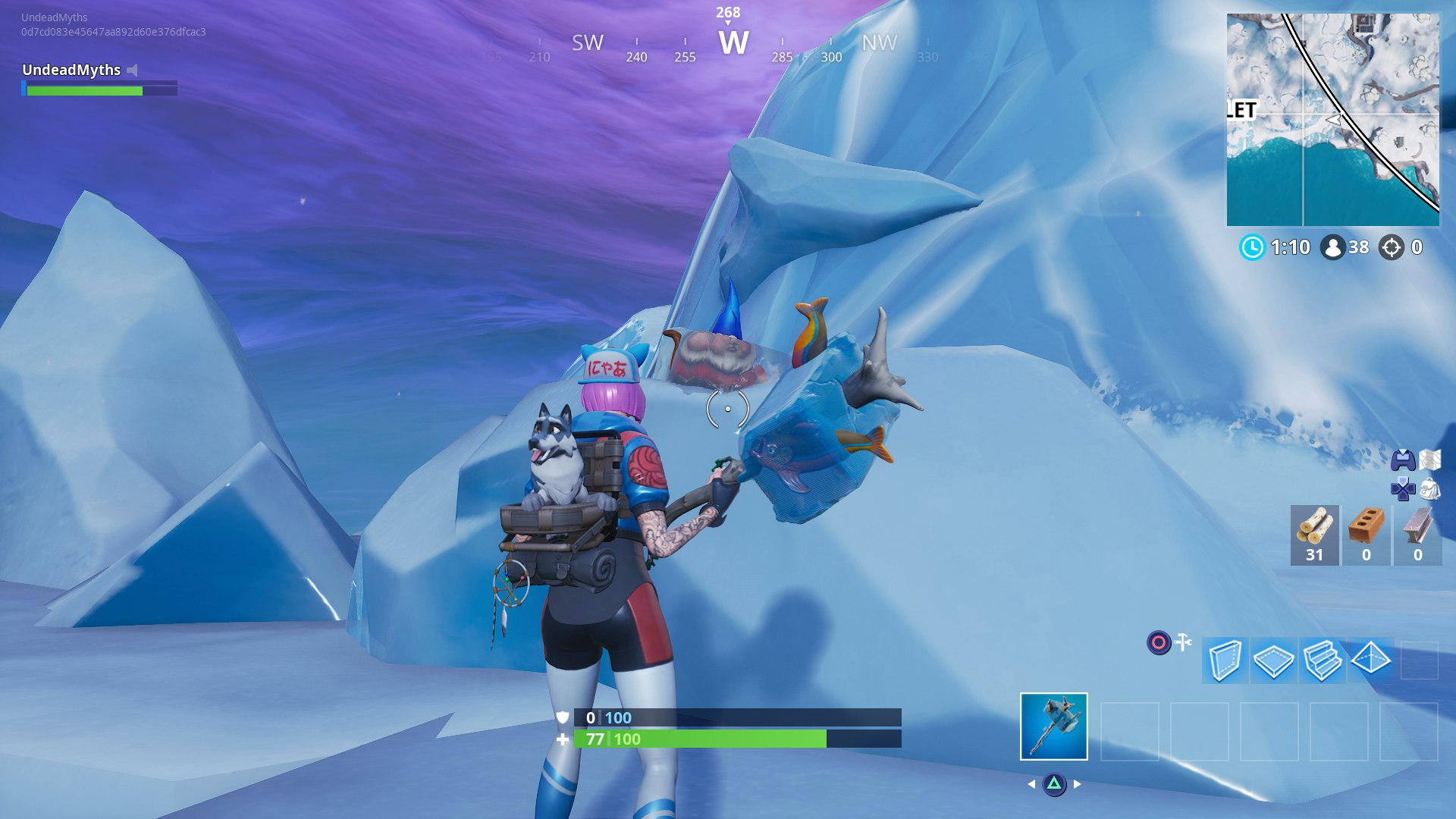fortnite chilly gnome location 2 hirun cryer - gnome challenge fortnite