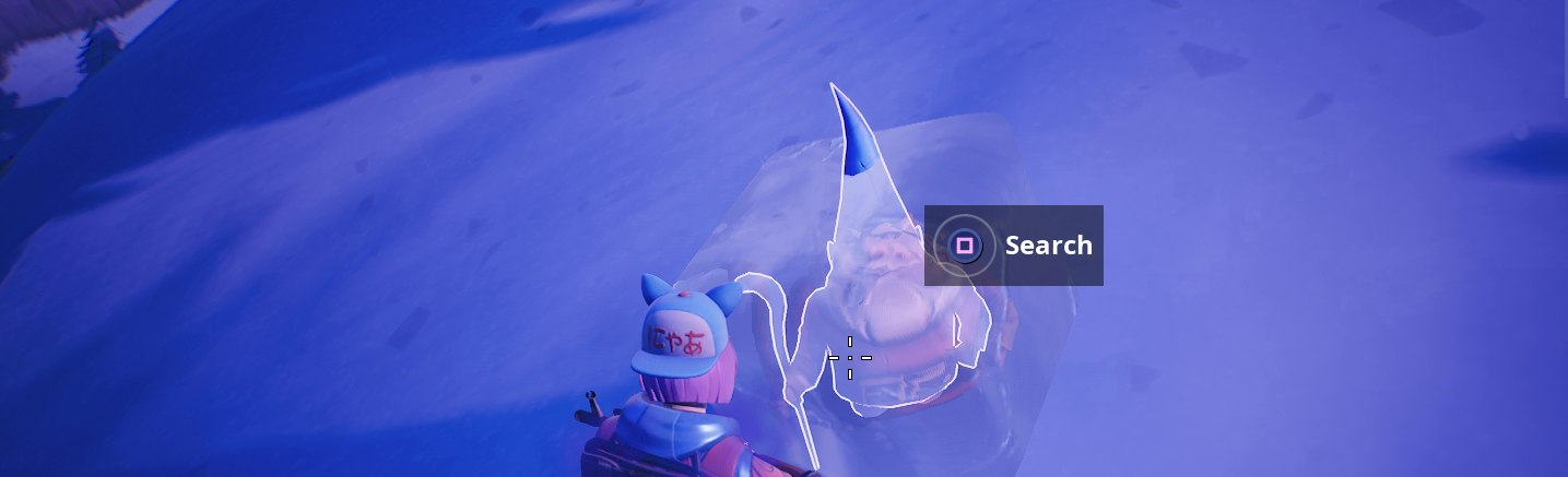 fortnite chilly gnome locations where to search chilly gnomes in fortnite battle royale usgamer - fortnite frozen gnomes locations