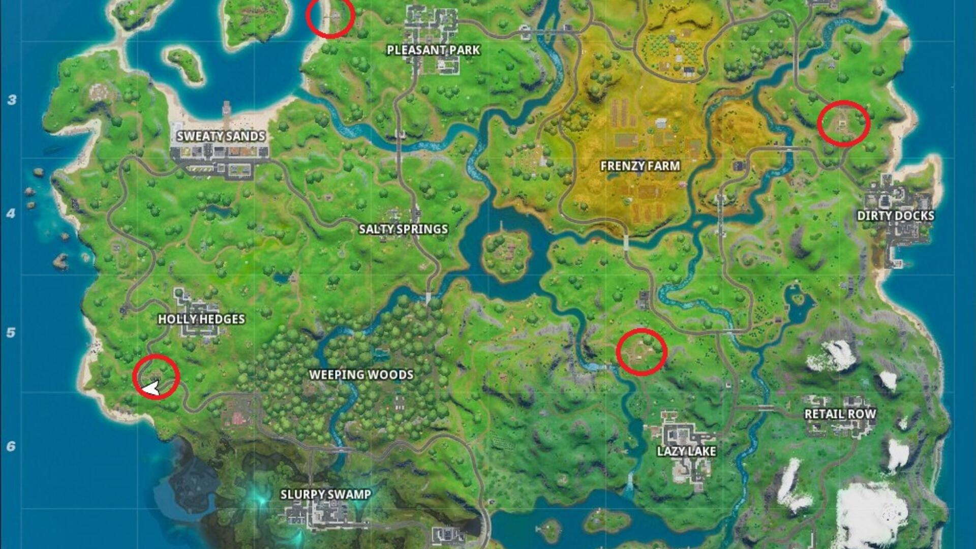 Fortnite E.G.O. Outpost Locations - Where to Find All the Ego Fortnite Outposts