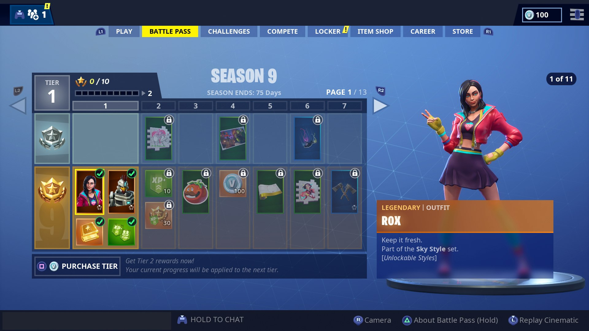 Fortnite Season 9 Update New Battle Pass All Season 9 Skins
