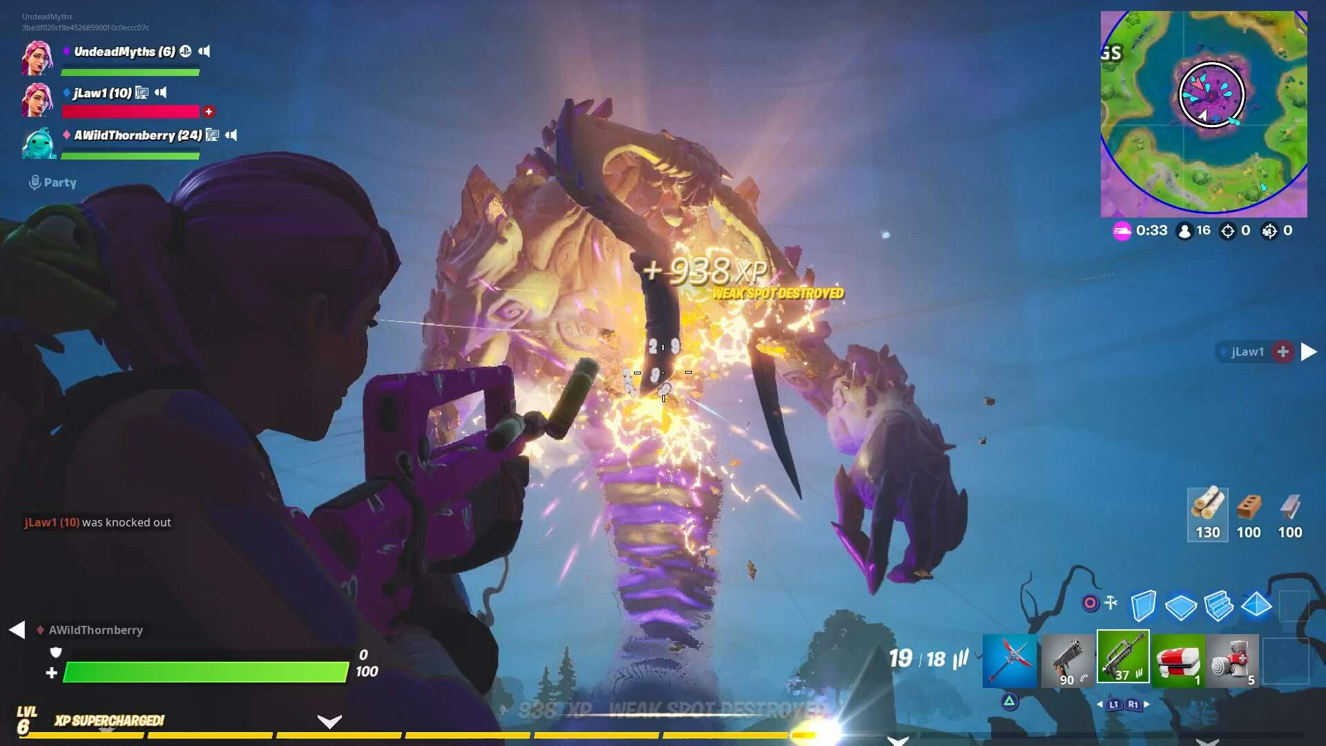 Fortnite Storm King Guide - How to Defeat Storm King Boss, All Rewards