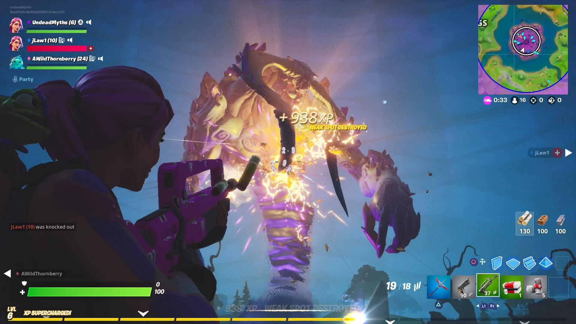Fortnite Storm King Guide How To Defeat Storm King Boss