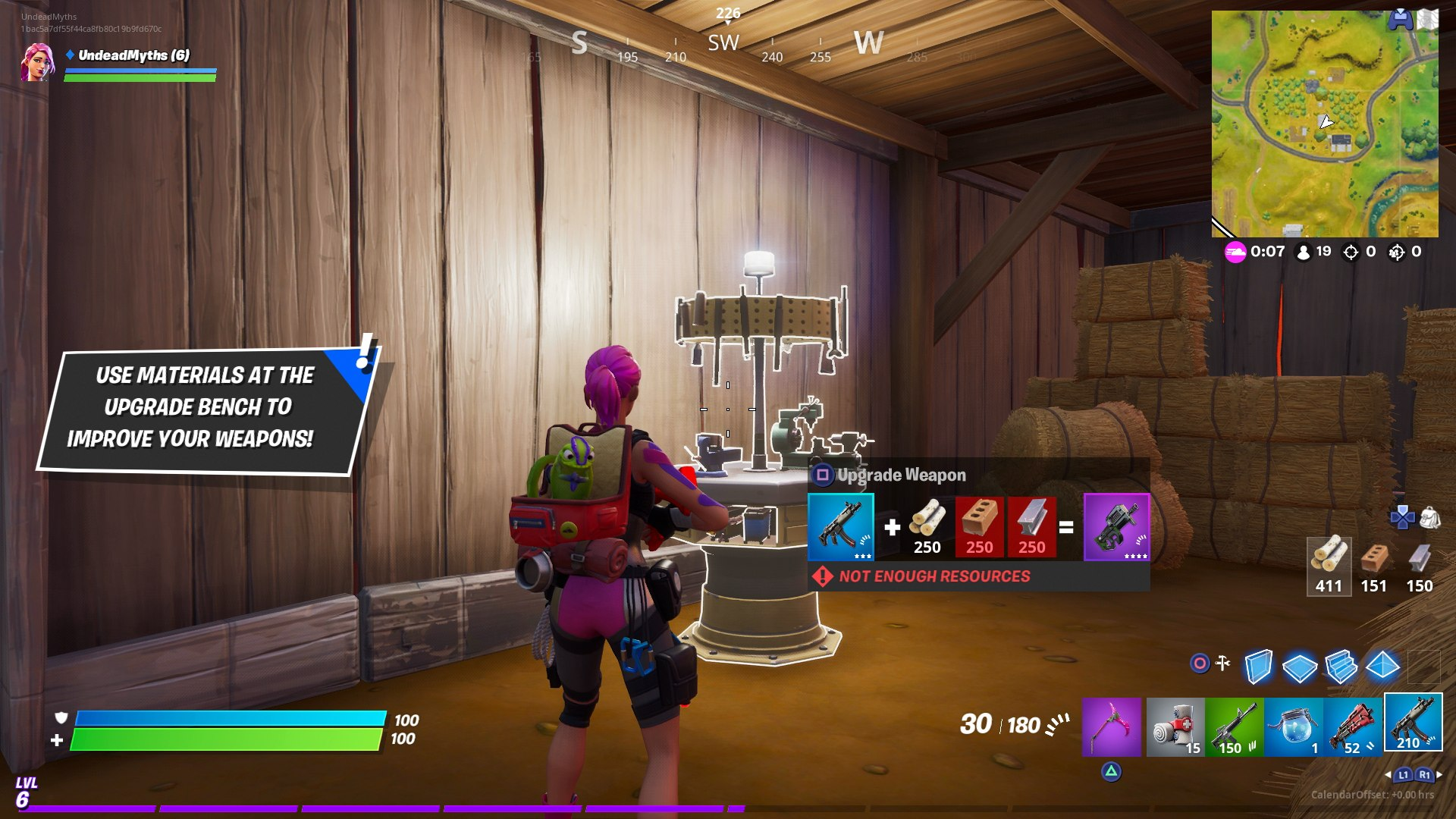 Fortnite Upgrade Bench Where To Find Upgrade Benches And