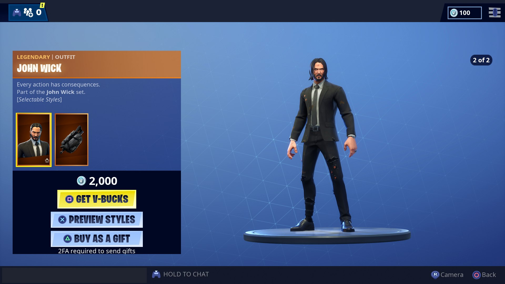 John Wick Fortnite Event Wick S Bounty Challenges John Wick Skin And Back Bling Usgamer For one, john wick is now a playable character in fortnite, so that's pretty cool. john wick fortnite event wick s