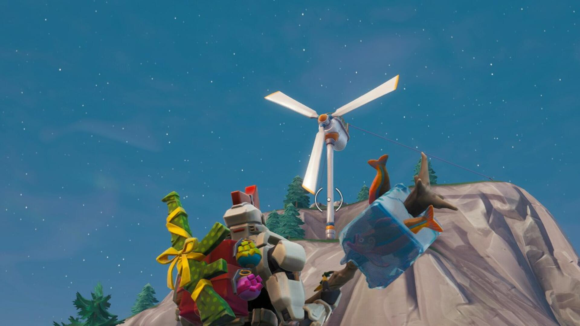 All Fortnite Wind Turbine Locations