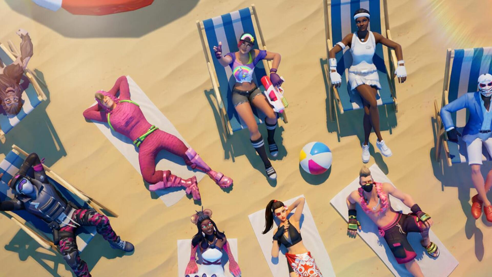 Fortnite Beach Parties All Fortnite Beach Party Locations Usgamer
