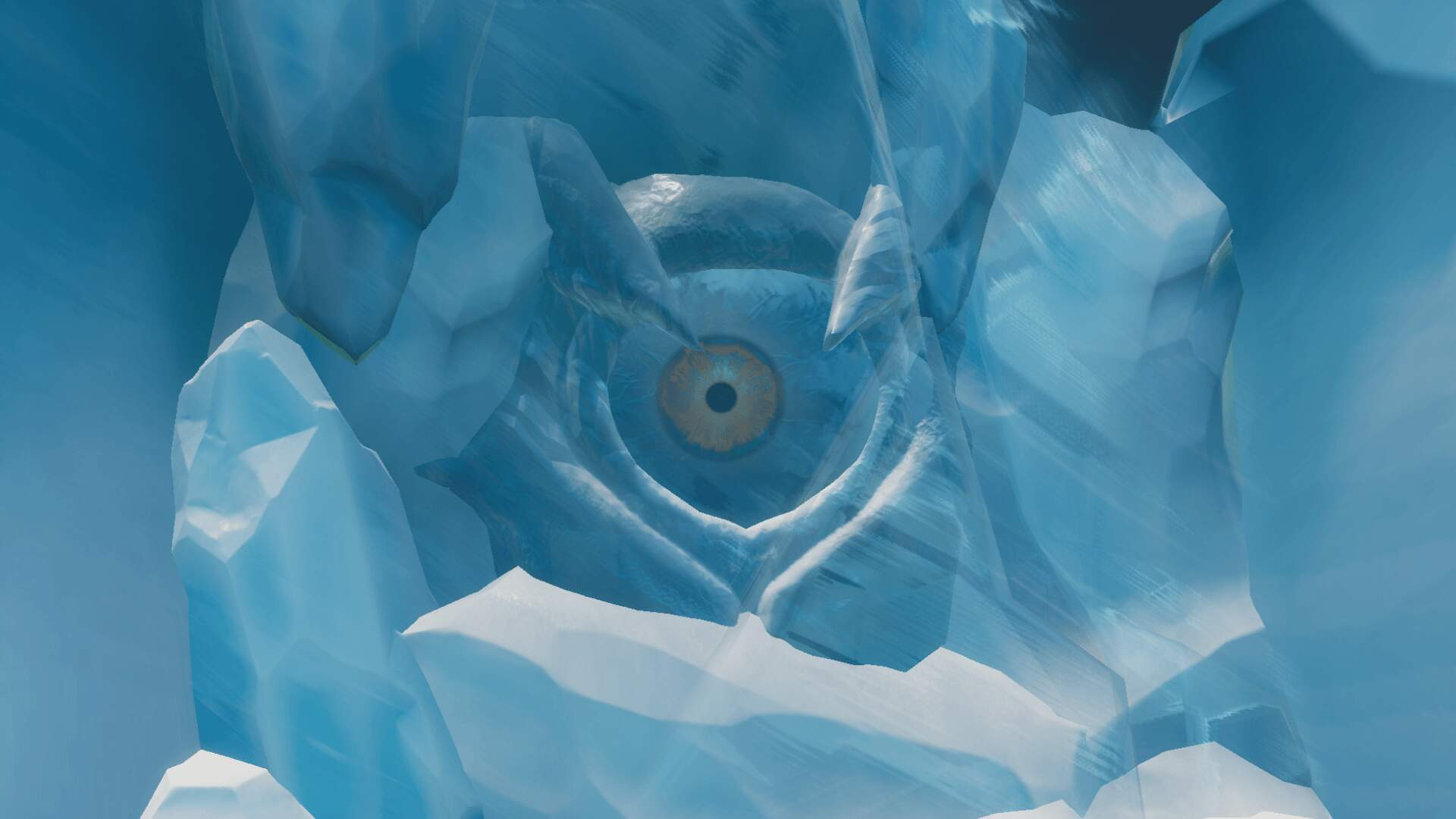 Fortnite Players Discover a Gross Giant Eyeball Under the Island. Is it a Godzilla Movie Tie-in?