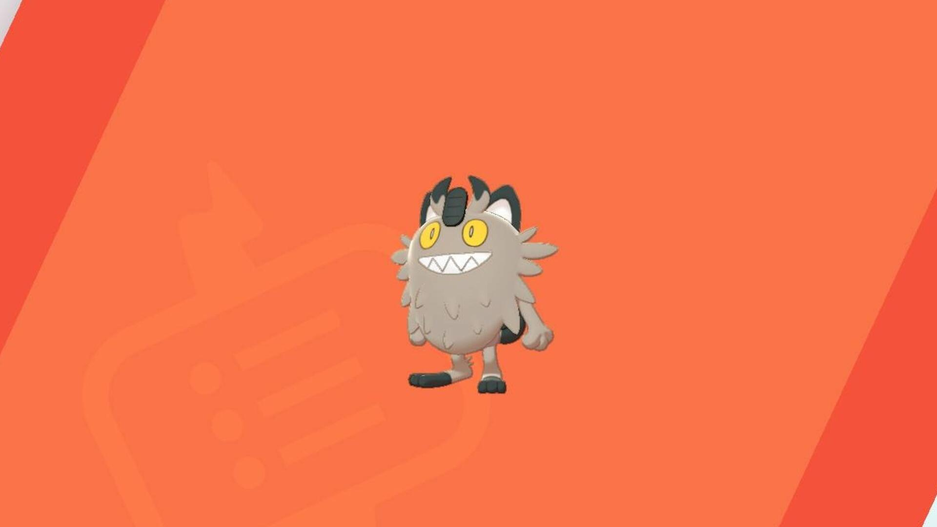 Galarian Meowth: Oh My God, What the Hell