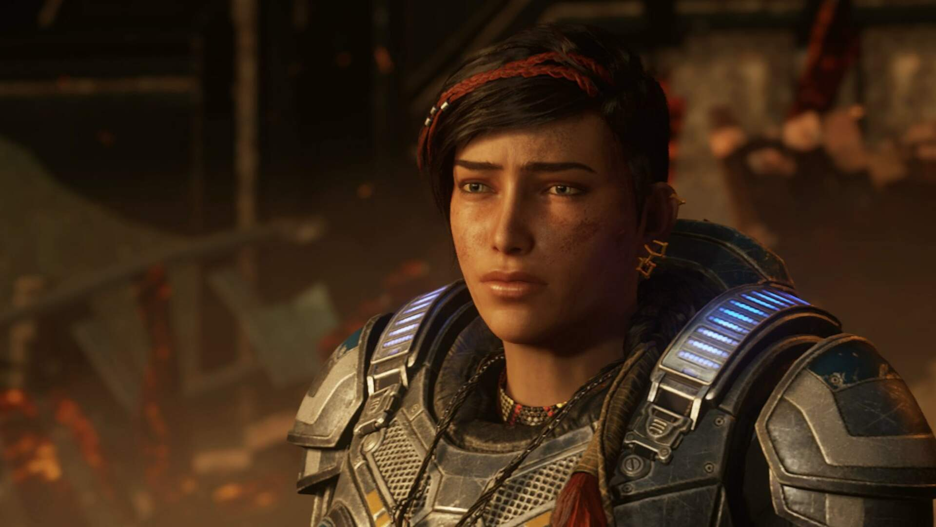 Gears 5 Characters Guide Who Are The Characters In Gears 5