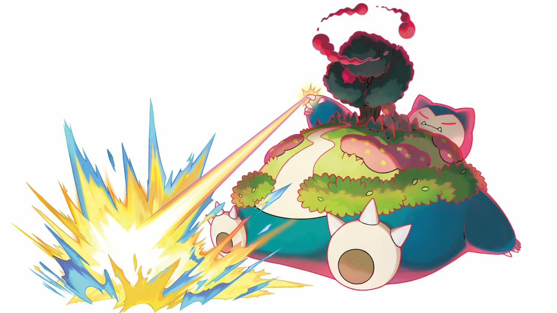 Gigantamax Snorlax Doesn't Block the Route, He Is the Route