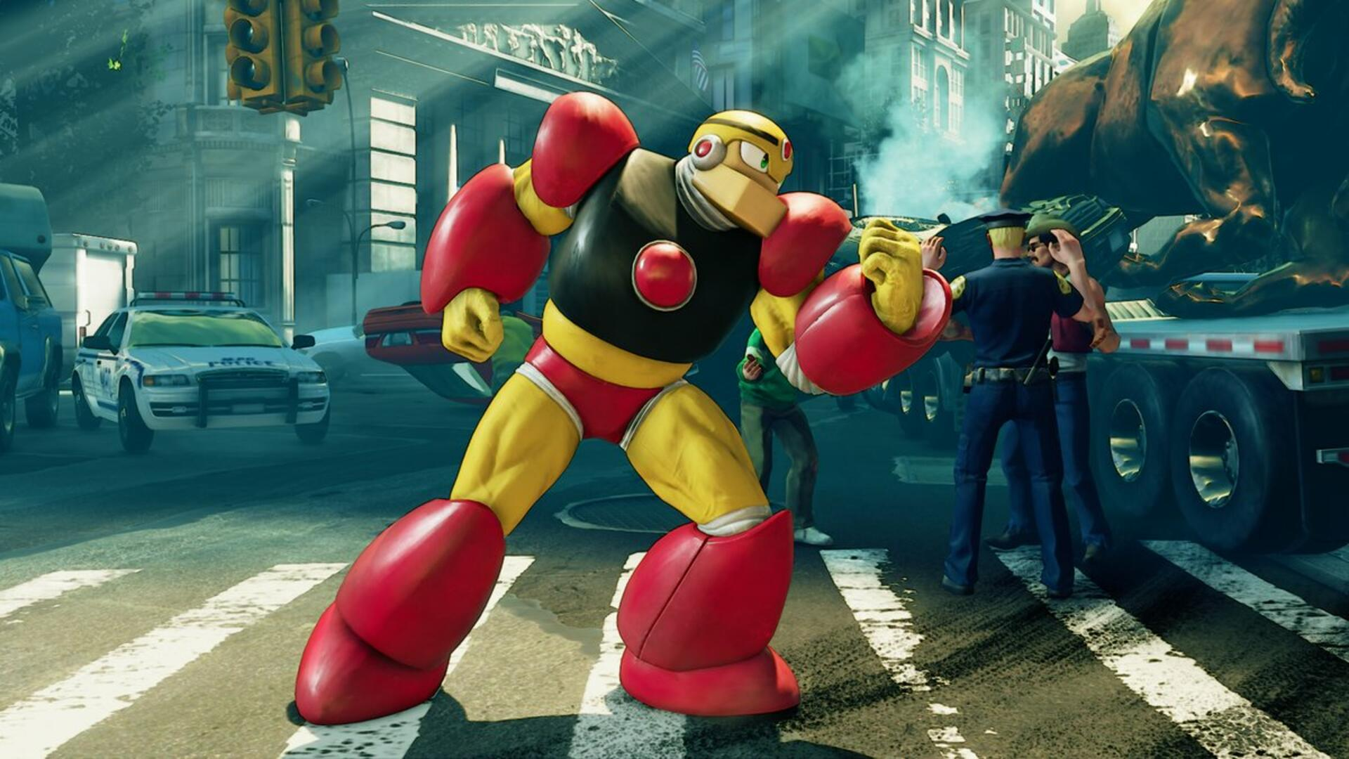 Guts Man Is Coming to Street Fighter 5, and He's Bringing His Whole