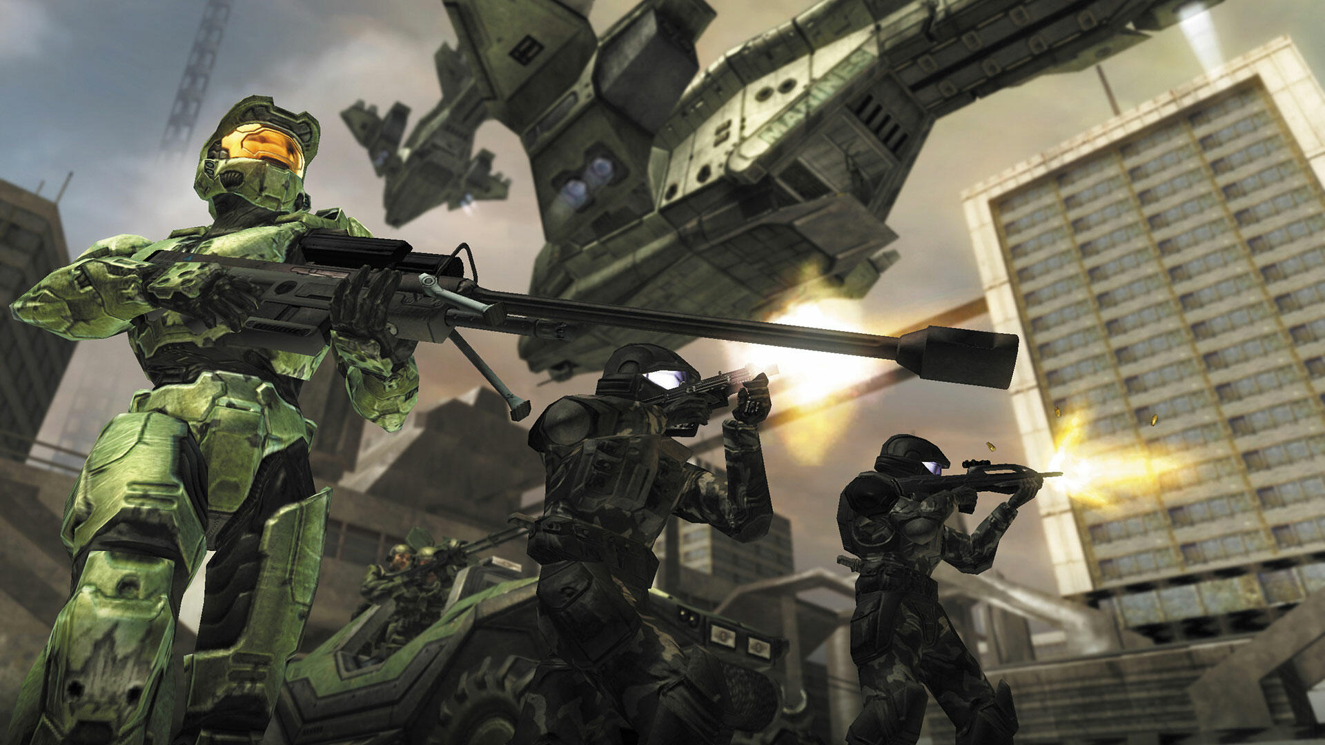 Halo 2's Early Xbox Live Party Prototype is a Glimpse Into the Not-So-Distant Past
