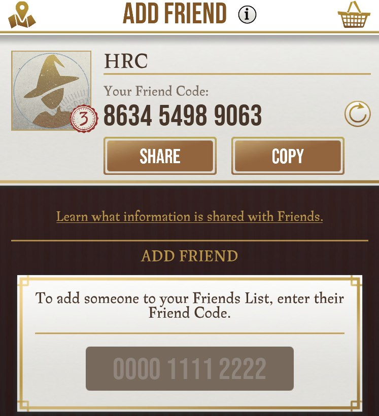 Wizards Unite Add Friends - How to Use Friend Codes in Harry