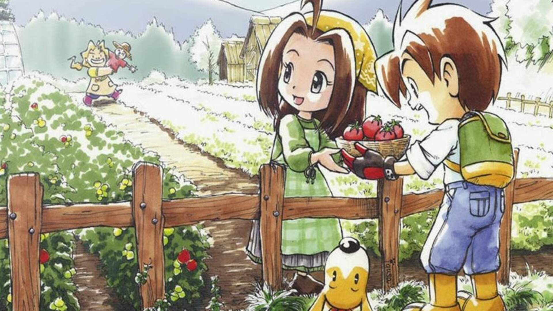 Beloved GBA Game Harvest Moon: Friends of Mineral Town is Getting a Switch Remake
