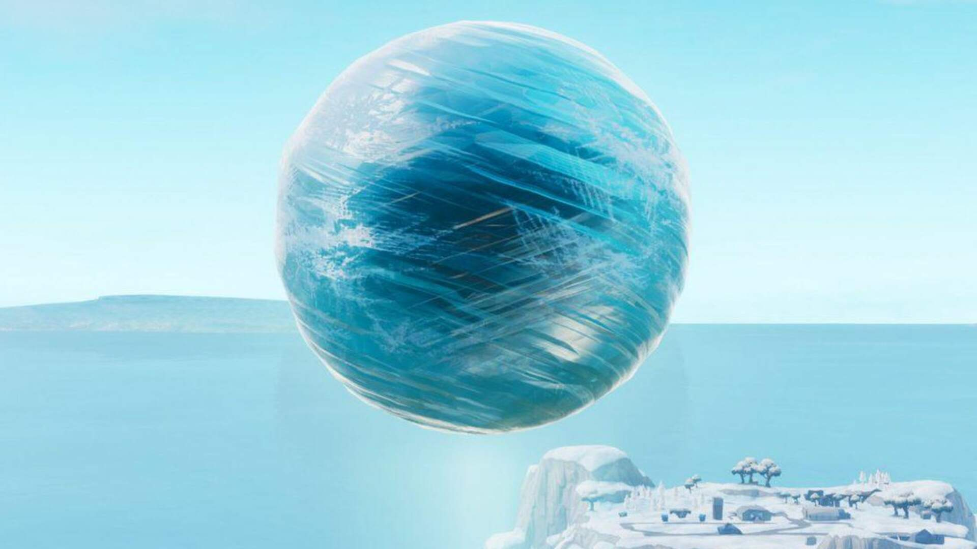 Fortnite Welcomes a New Ice Orb Overlord