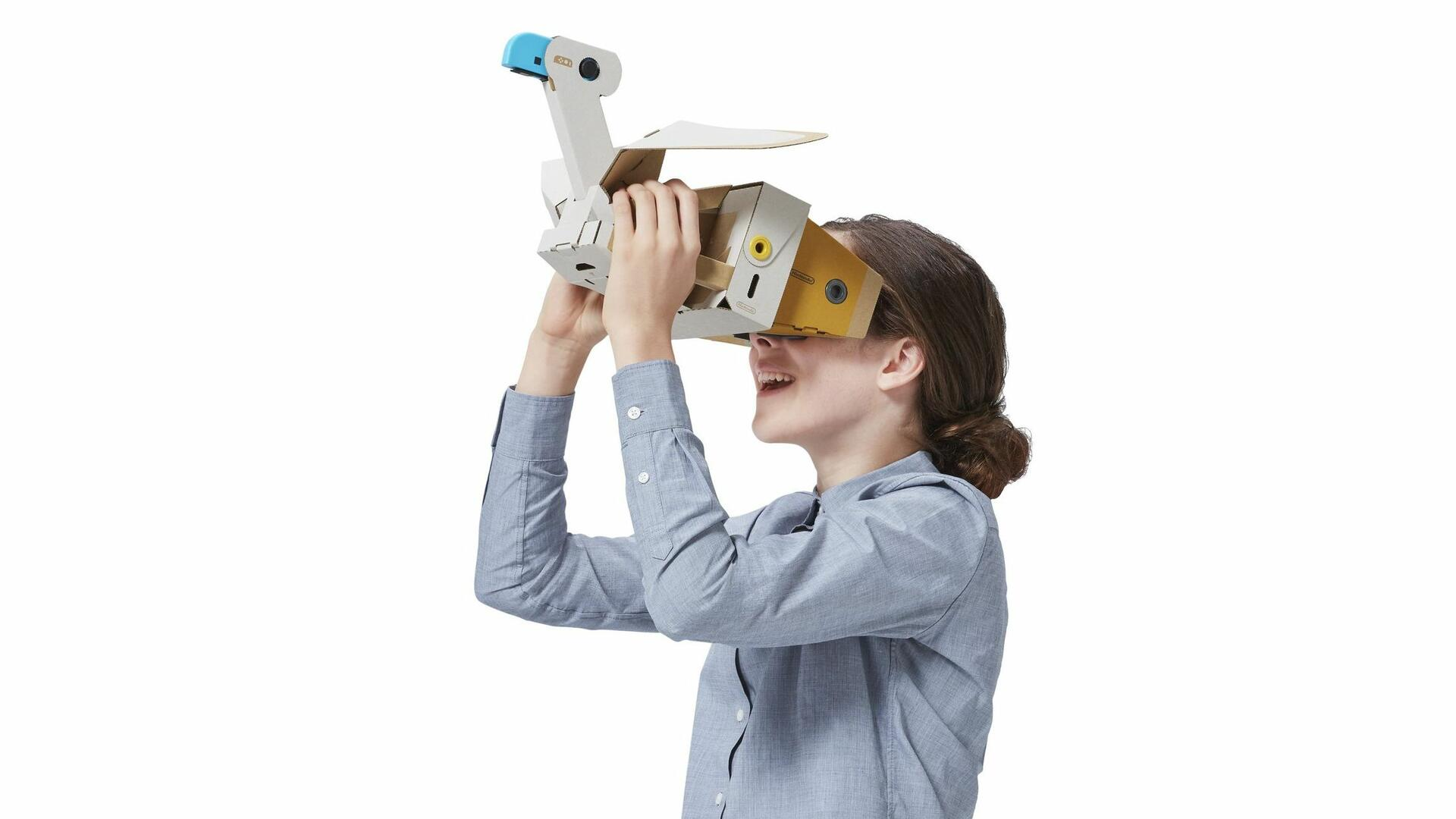 The Labo VR Experience: My Journey to Look Up a Cardboard Bird's Butt