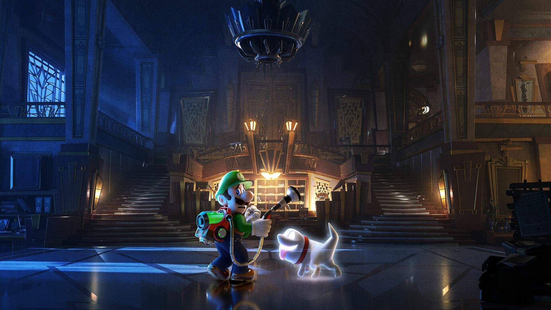 How to Save in Luigi's Mansion 3