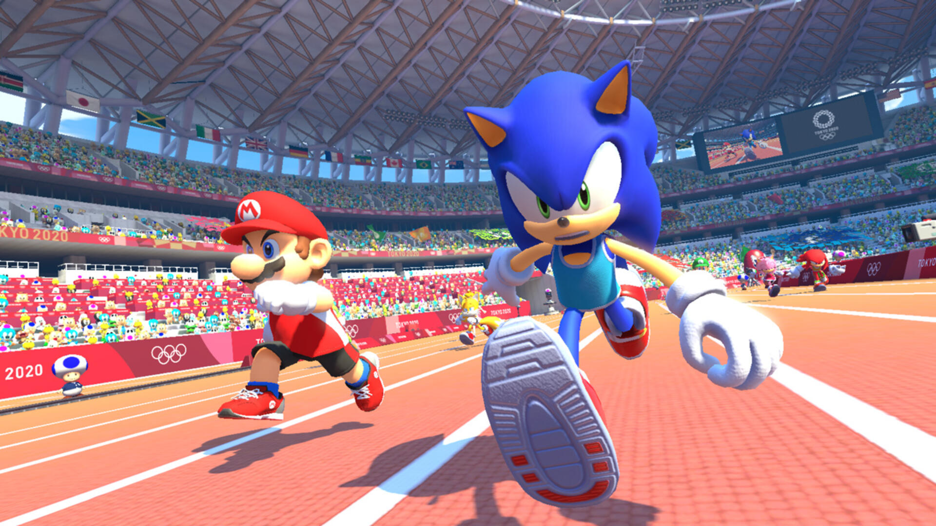 Mario And Sonic 2020 Winter Olympics.Mario Sonic At The Olympic Games Tokyo 2020 Review Run