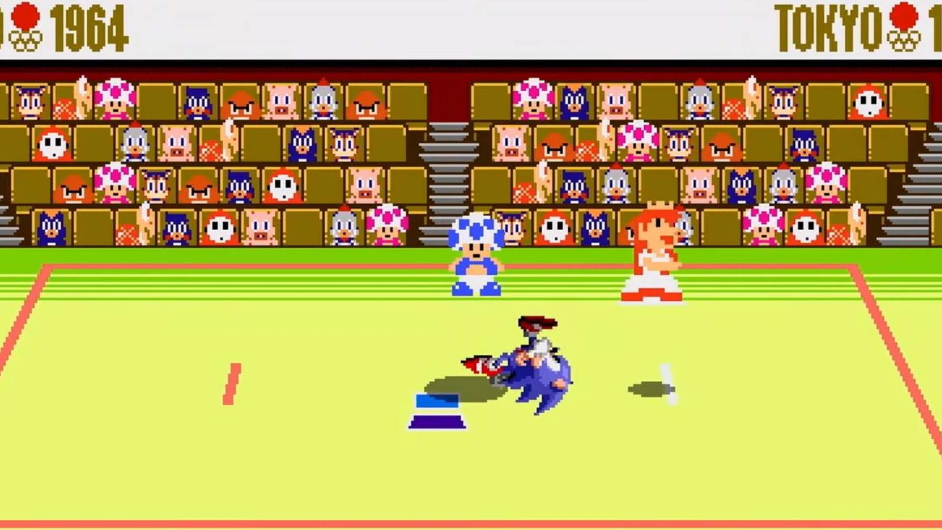 Mario & Sonic at the Olympic Games Has a Nostalgic Throwback Mode