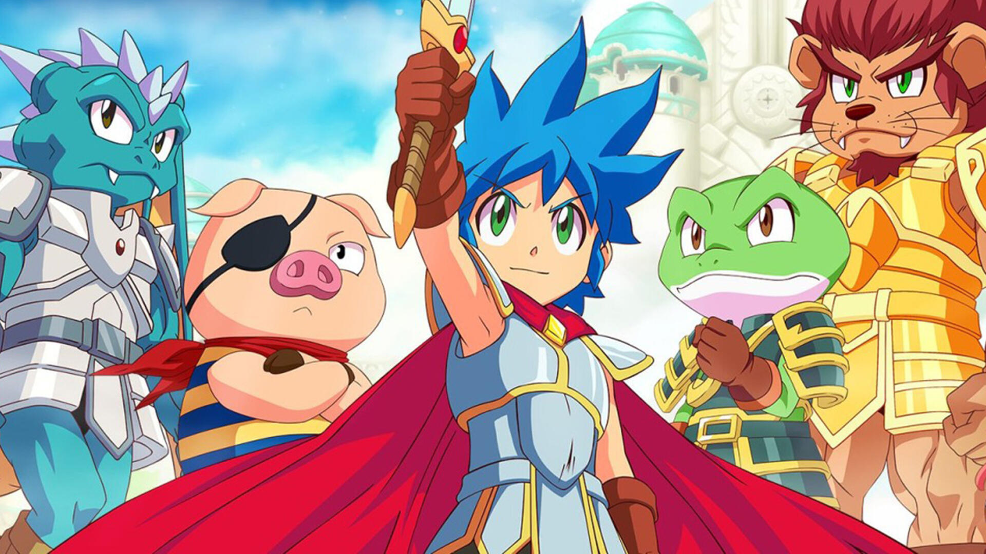 Monster Boy and the Cursed Kingdom Lets You Experience True Bliss with the Aid of a Long, Prehensile Tongue