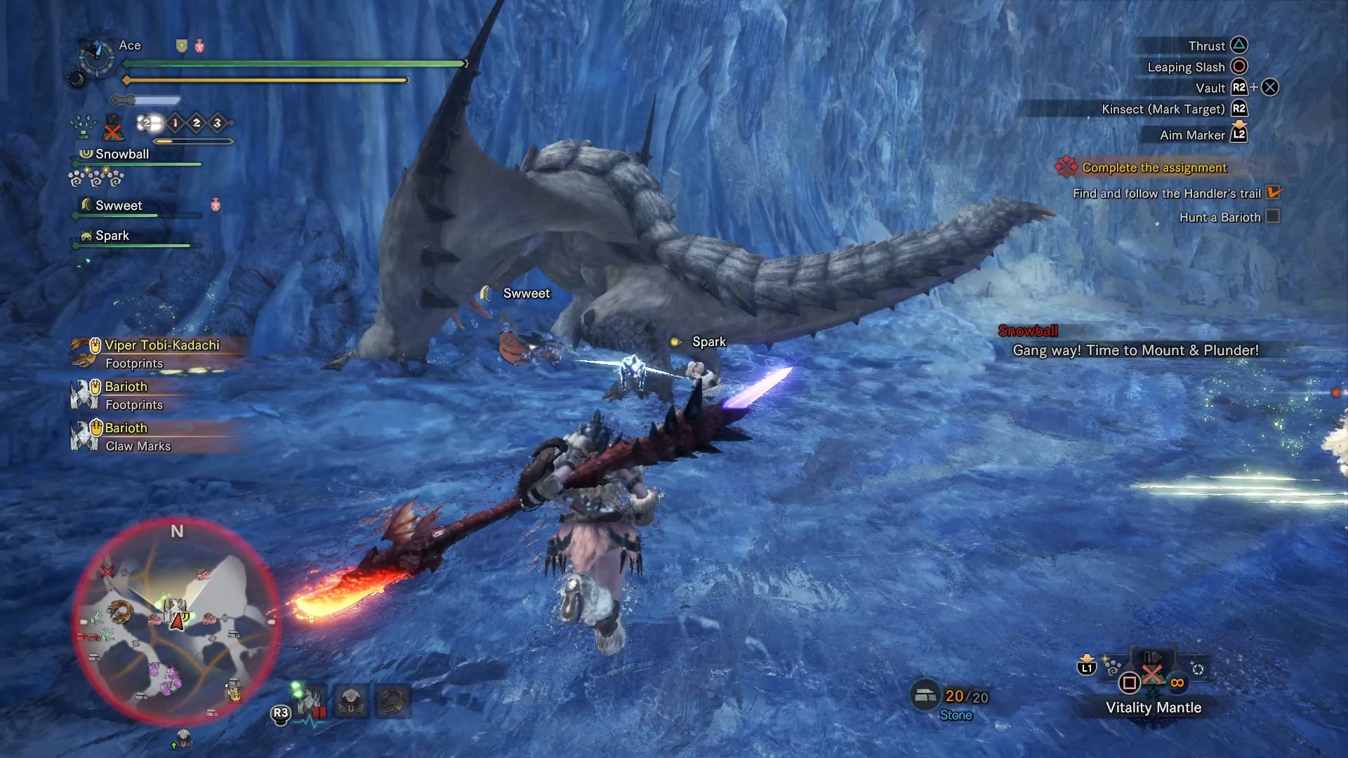 Monster Hunter World Iceborne How To Defeat The Barioth Usgamer