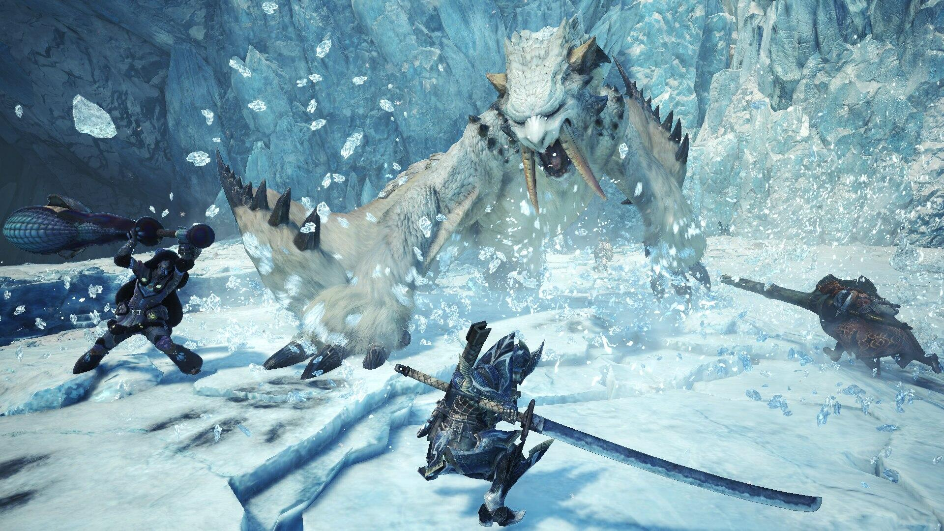 Monster Hunter World: Iceborne Won't Hit Steam Until Next Year